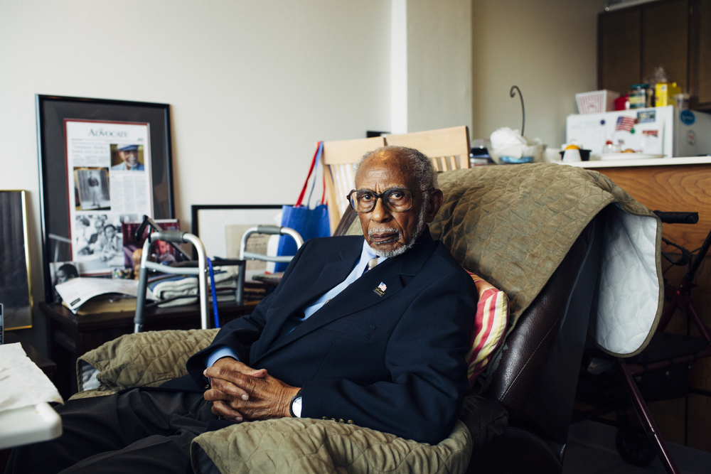 Storied civil rights lawyer Johnnie Jones, now 95, defended teenager Henry Montgomery for six years, through two trials. (He is not involved with the current case.) Sheriff's deputies were critical of his desegregation work and his defense of Montgomery, Jones said, recalling the time he received eight traffic tickets in one day.