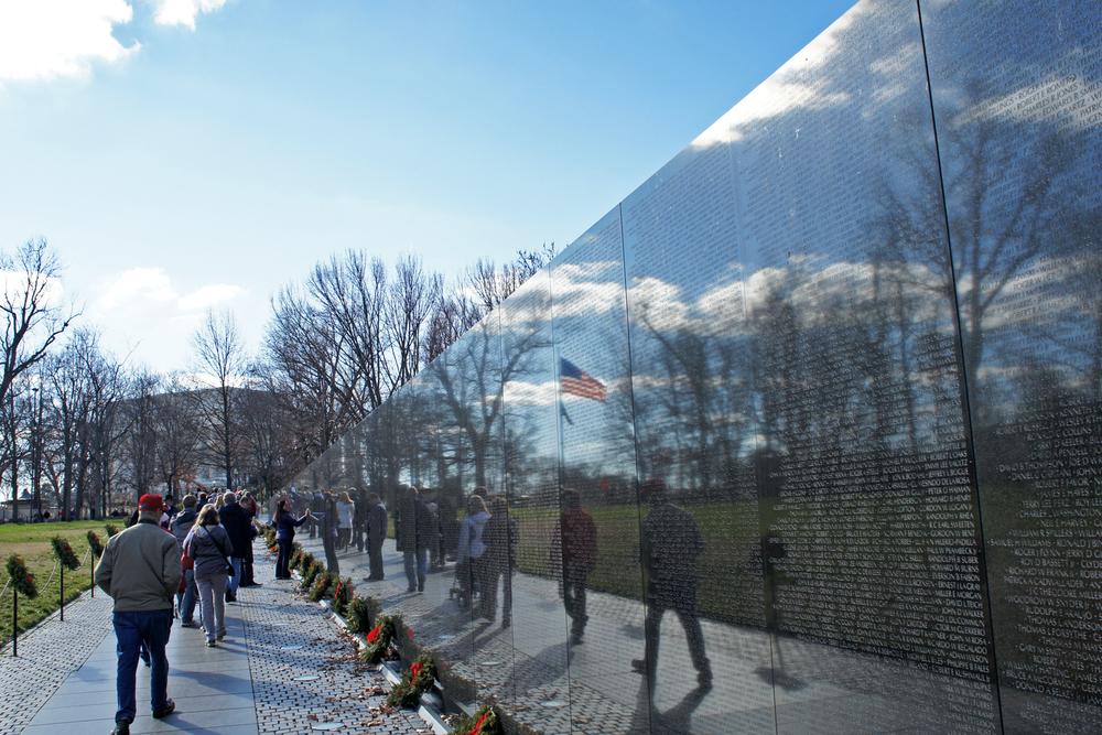 The Vietnam Veterans Memorial in Washington, D.C. Photo by Mario Roverto Durán Ortiz.