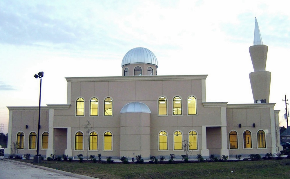 The largest mosque in Texas. Photo courtesy US Embassy, Jakarta.