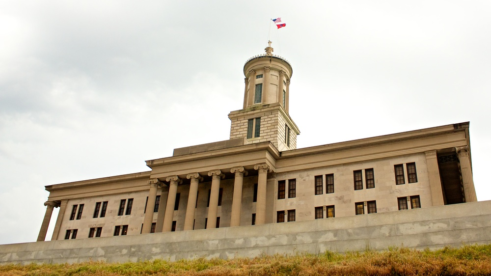 The Tennessee State Capitol. Photo by Andre Porter.