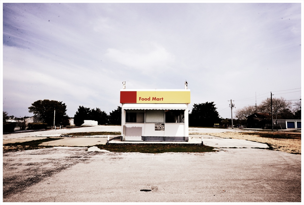 A deserted store near Beaufort, N.C. Photo by Kate Medley.