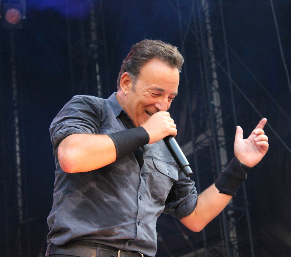 Bruce Springsteen, who recently cancelled a concert in North Carolina in response to the state's H.B. 2. Image courtesy Jolanda Bakker.