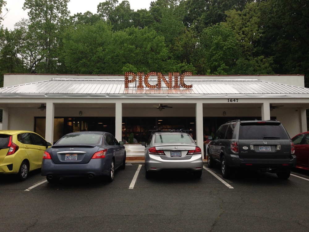Picnic restaurant in Durham, North Carolina. Photo by Tom Wolf.