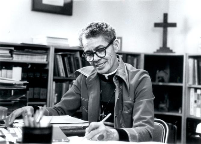 Pauli Murray. Image courtesy UNC University Library.