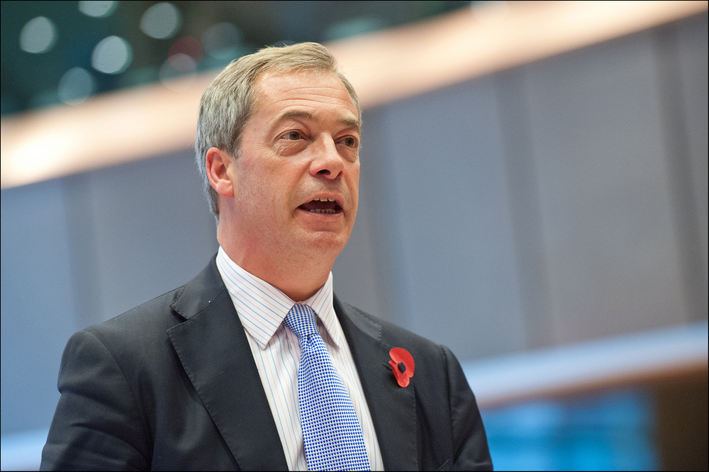 Nigel Farage is the leader of UKIP, a British nationalist party that advocated in favor of Leave.
