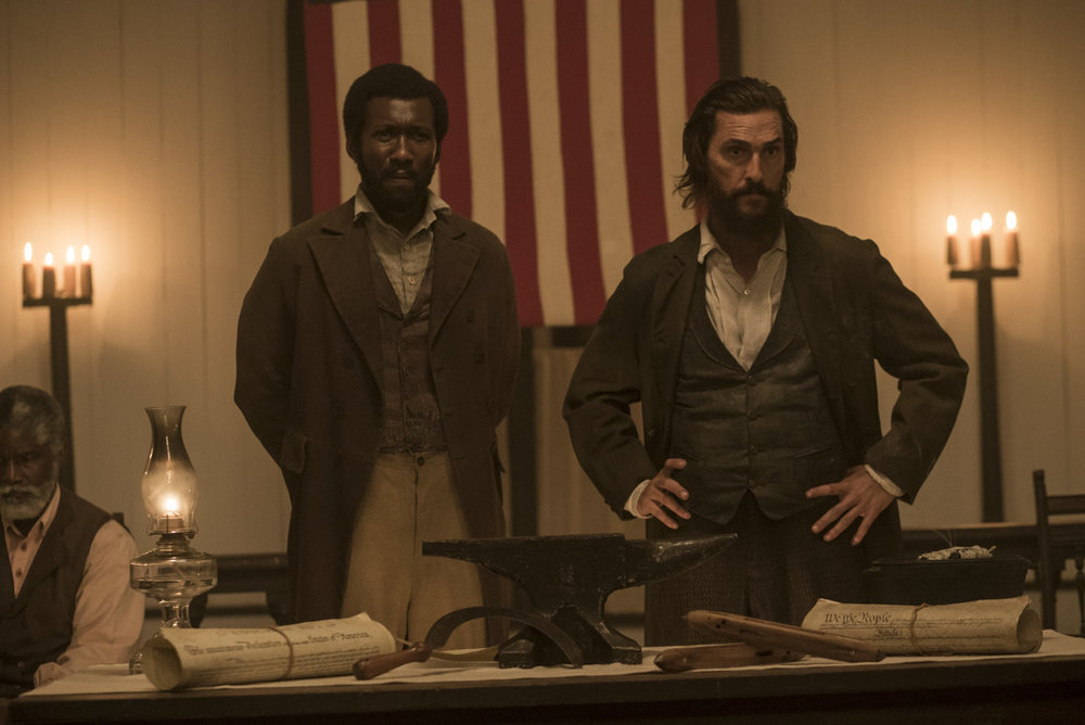 """Still from """"Free State of Jones."""" Courtesy STX Entertainment."""