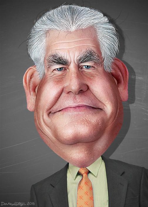 Rex Tillerson. Image by DonkeyHotey.