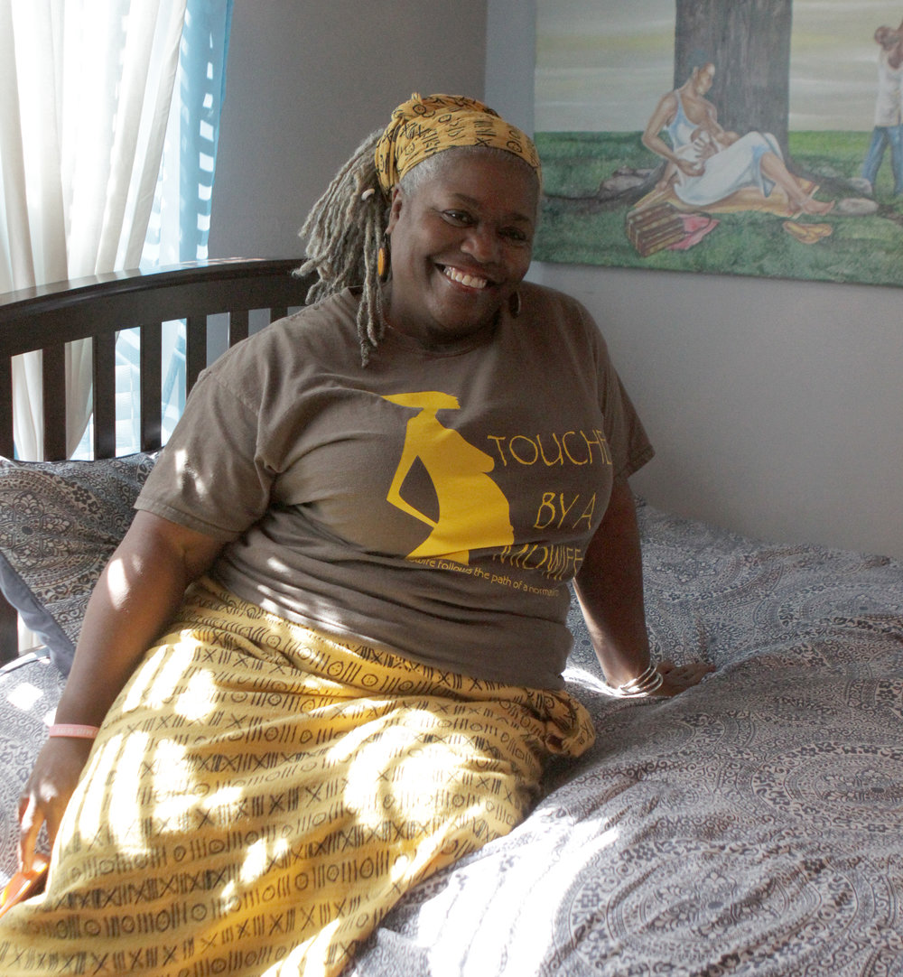 Afua Hassan at her home and her practice. Photos by Ana Goñi-Lessan.