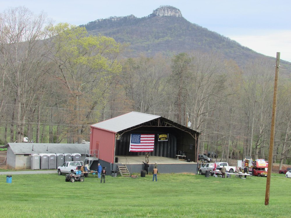 The North Carolina Oath Keepers Summit was held in the shadow of scenic Pilot Mountain outside of Winston-Salem, North Carolina.