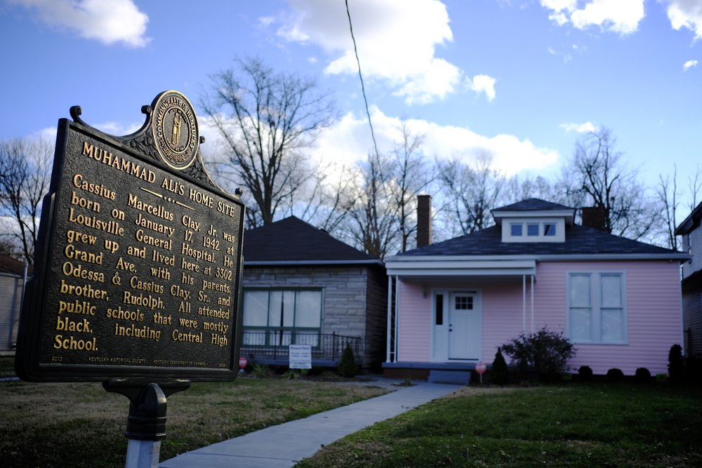 Muhammad Ali's Childhood Home on Grand Avenue in the West End—4pm