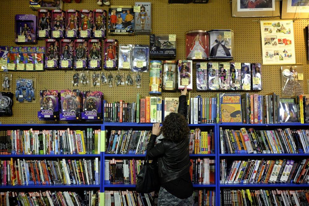 The Great Escape and Carmichael's Bookstore—7 p.m.