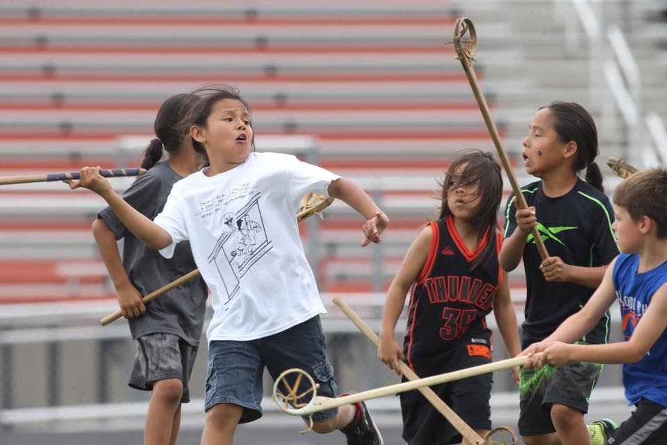Twin Cities Native Lacrosse boys reclaiming culture, health and tradition. Photo: David Joles.