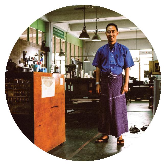 Aung Ko Ko  Designer, Project Manager