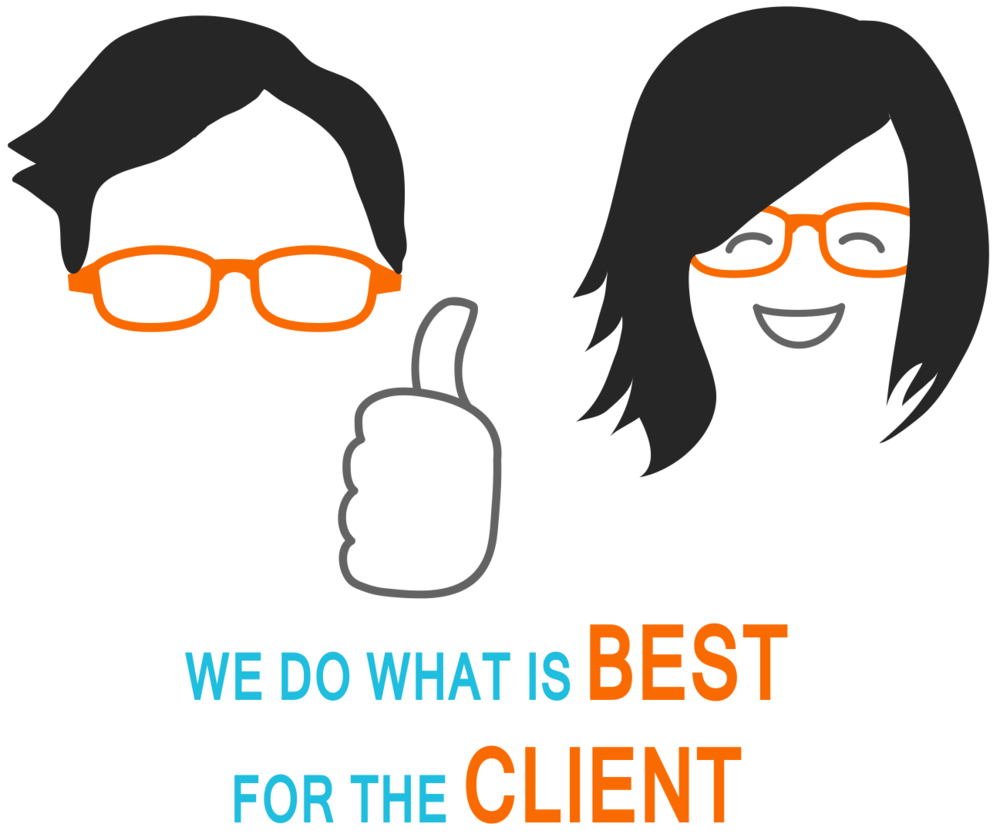 We do what is best for the client