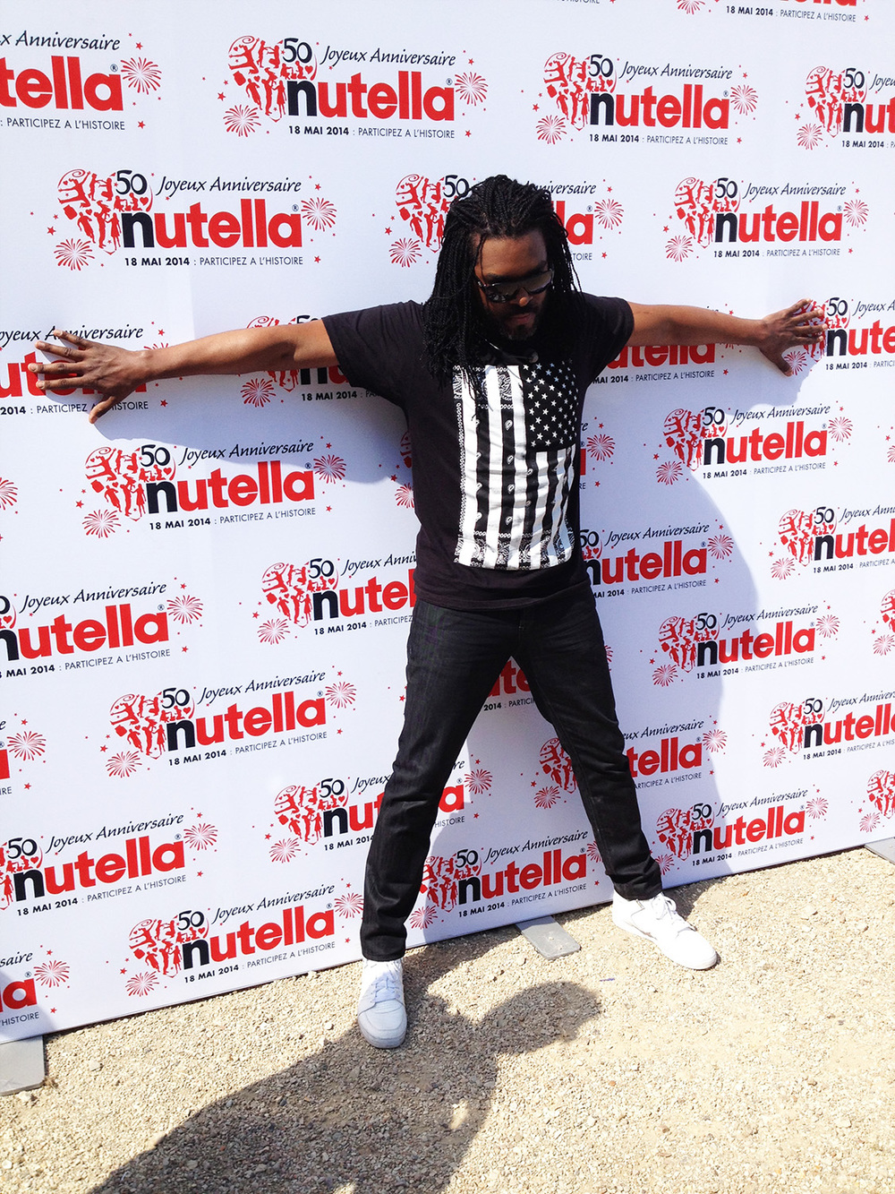 Anthony Kavanagh aux 50 ans Nutella