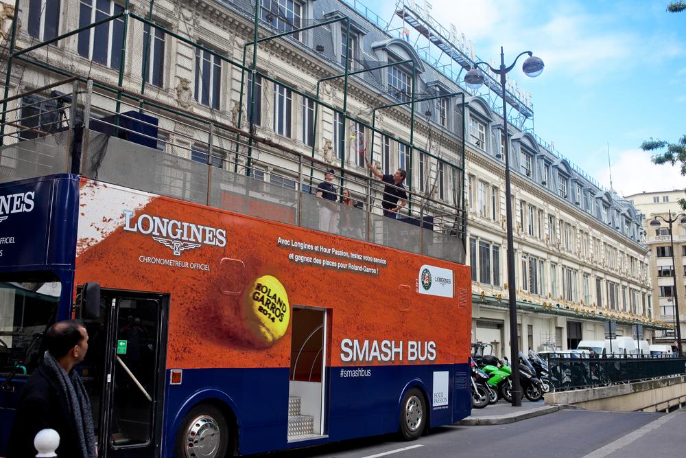 Longines Smash Bus - Mai 2014