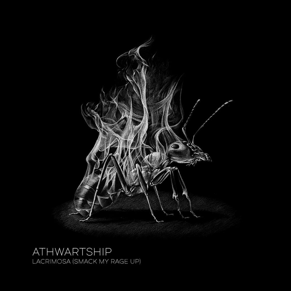 """Couverture du single """"Lacrimosa"""" par  Charlotte Delarue"""