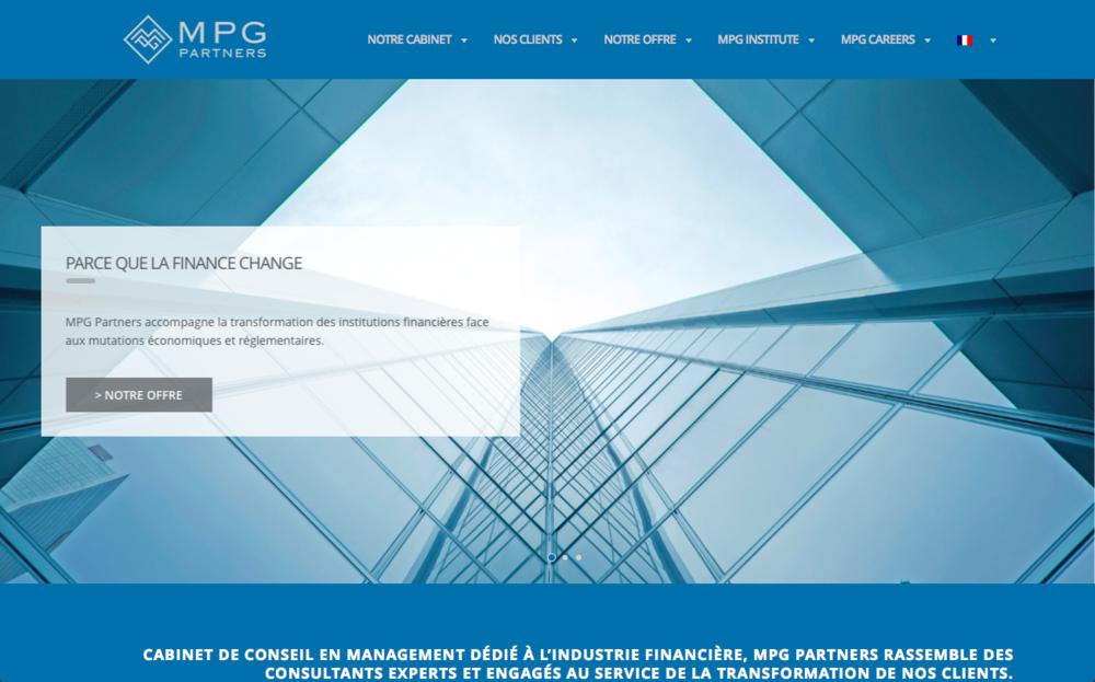 Conception et production du nouveau site web du cabinet.