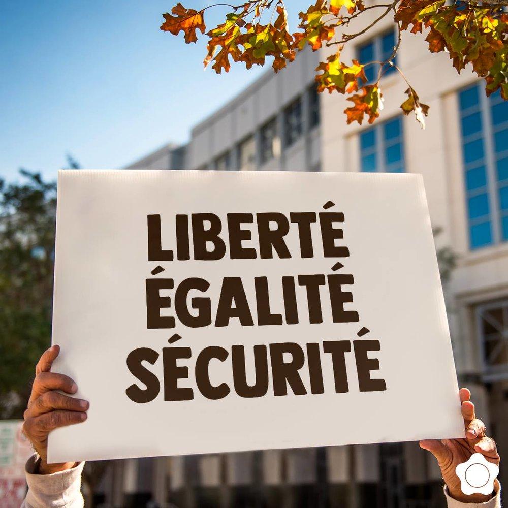 C'est un droit fondamental de se sentir en sécurité ✊✊