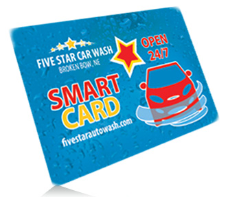 The Smart Card from Five Star Car Wash