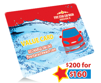 Get $200 in wash credits for $160