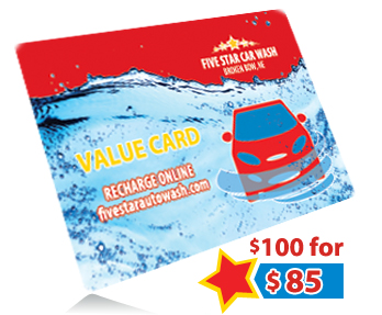 Get $100 in wash credits for $85