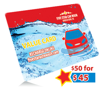Get $50 in wash credits for $45
