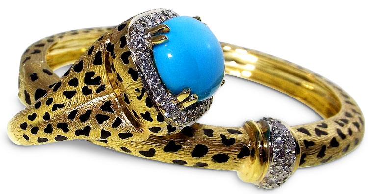 Bangle and Ring by designer Sal Praschnik