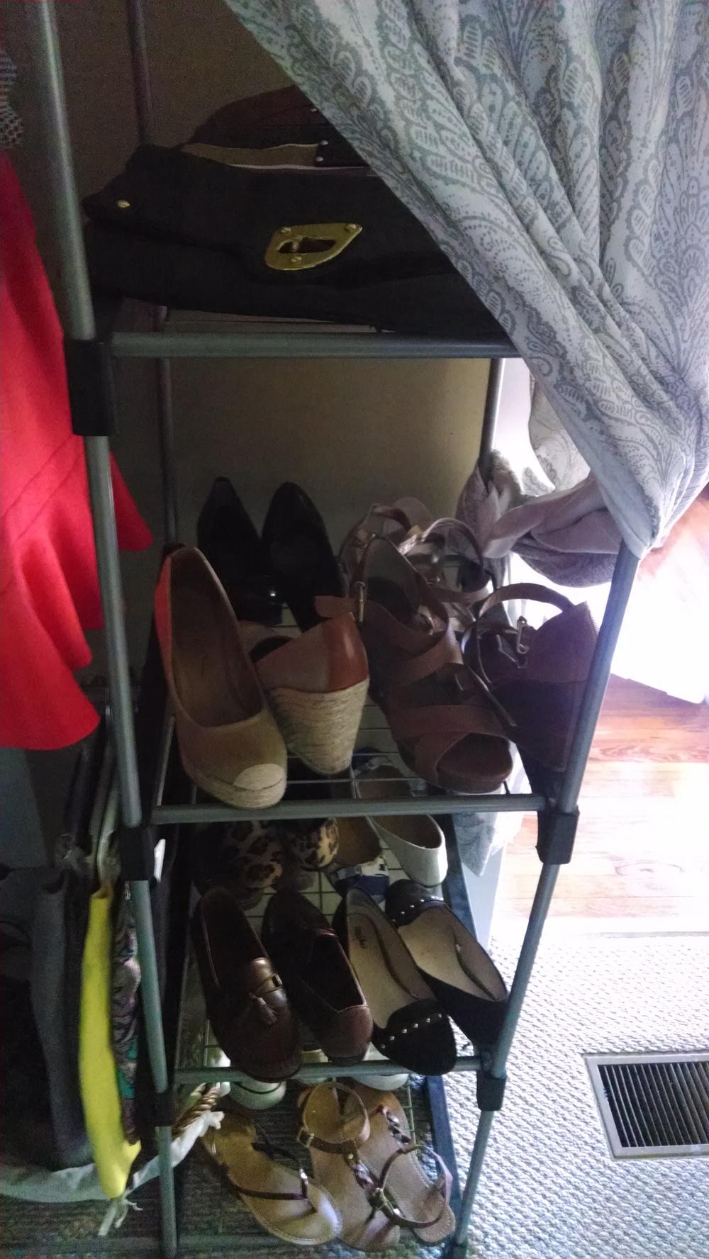 Closet Consultation | After | Shoe Organization