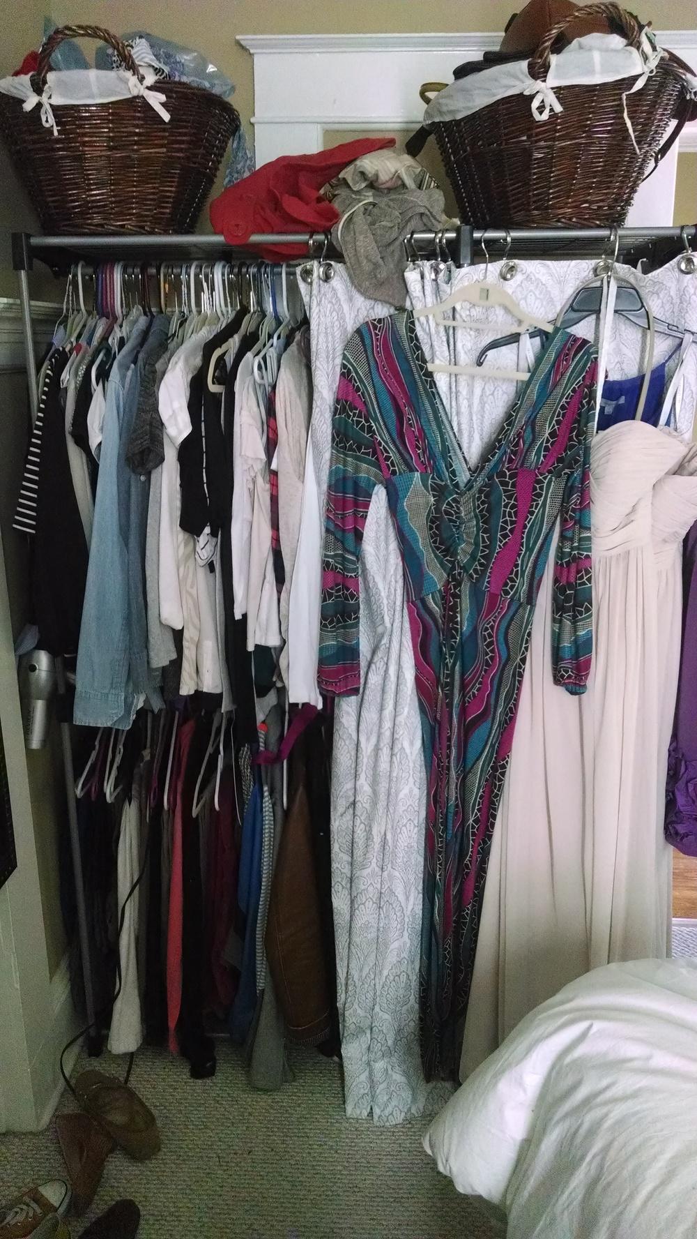 Closet Consultation | Before