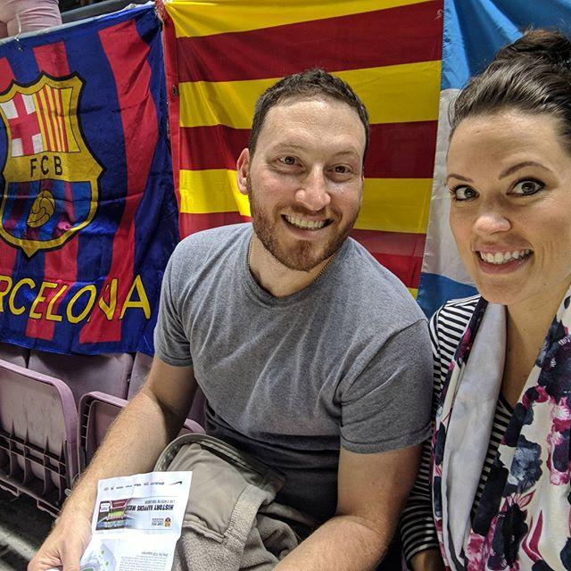 We made it! Fantastic scoring by FC Barcelona #barcelona #fcbarcelona #datenight