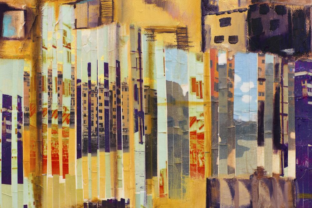 """Artwork by Master Painter Dee Cohen @deezineartstudio presents series """"Time in Oscillation"""" @ www.deezineartstudio.com."""