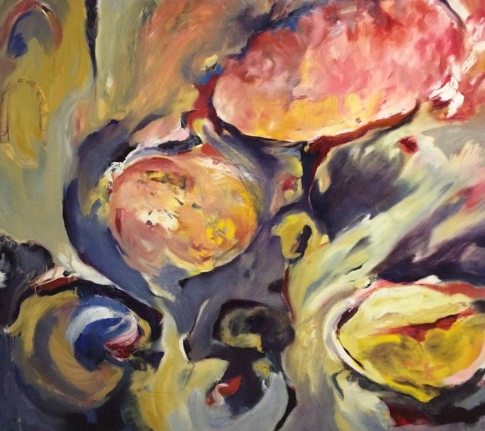 Dee Cohen Master Painter Presents The Fabric of Sound: Ella's Scat, Oil Paintings Inspired by Ella Fitzgerald @ www.deezineartstudio.com @deezineartstudio