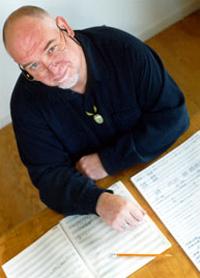 Composer Roger Briggs