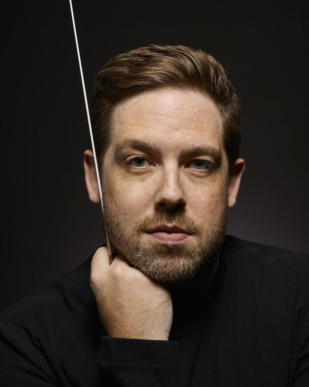 Colorado Symphony Music Director Designate Brett Mitchell (Photo by Roger Mastroianni)