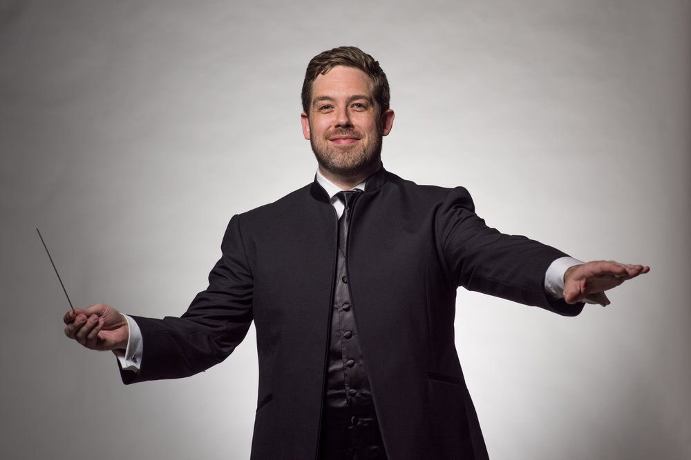 Conductor Brett Mitchell is the new Colorado Symphony music director. (Photo by Peter Lockley)