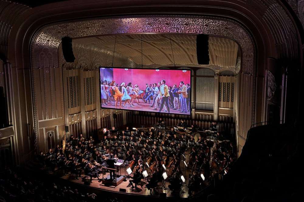 Brett Mitchell led The Cleveland Orchestra in four performances of  West Side Story  at Severance Hall in June 2017. (Photo by Roger Mastroianni)