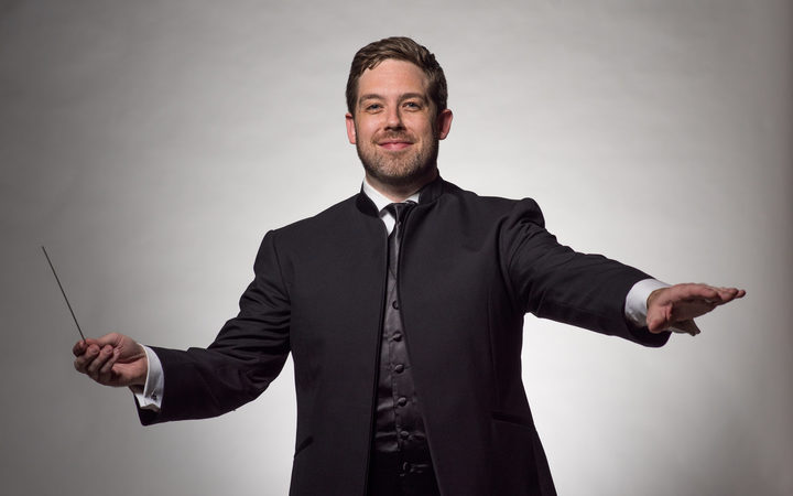 Brett Mitchell will lead the New Zealand Symphony Orchestra's upcoming 'Bernstein At 100' concerts in Wellington and Auckland. (Photo by Peter Lockley)