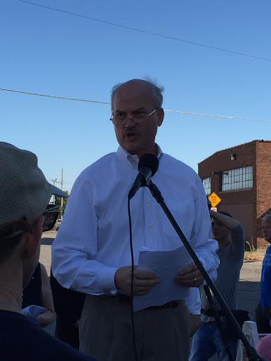 John Helmberger, CEO for Minnesota Family Council, speaking at #ProtestPP rally on 10-11-15