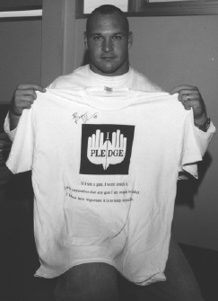 Brian Urlacher supports the Pledge.