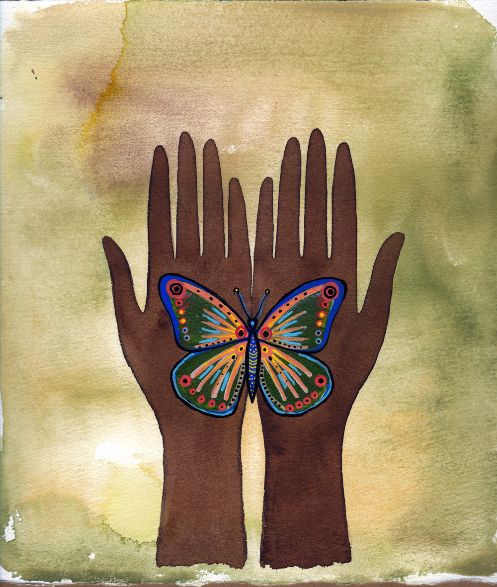 Grateful Hands by Maryam Gaber