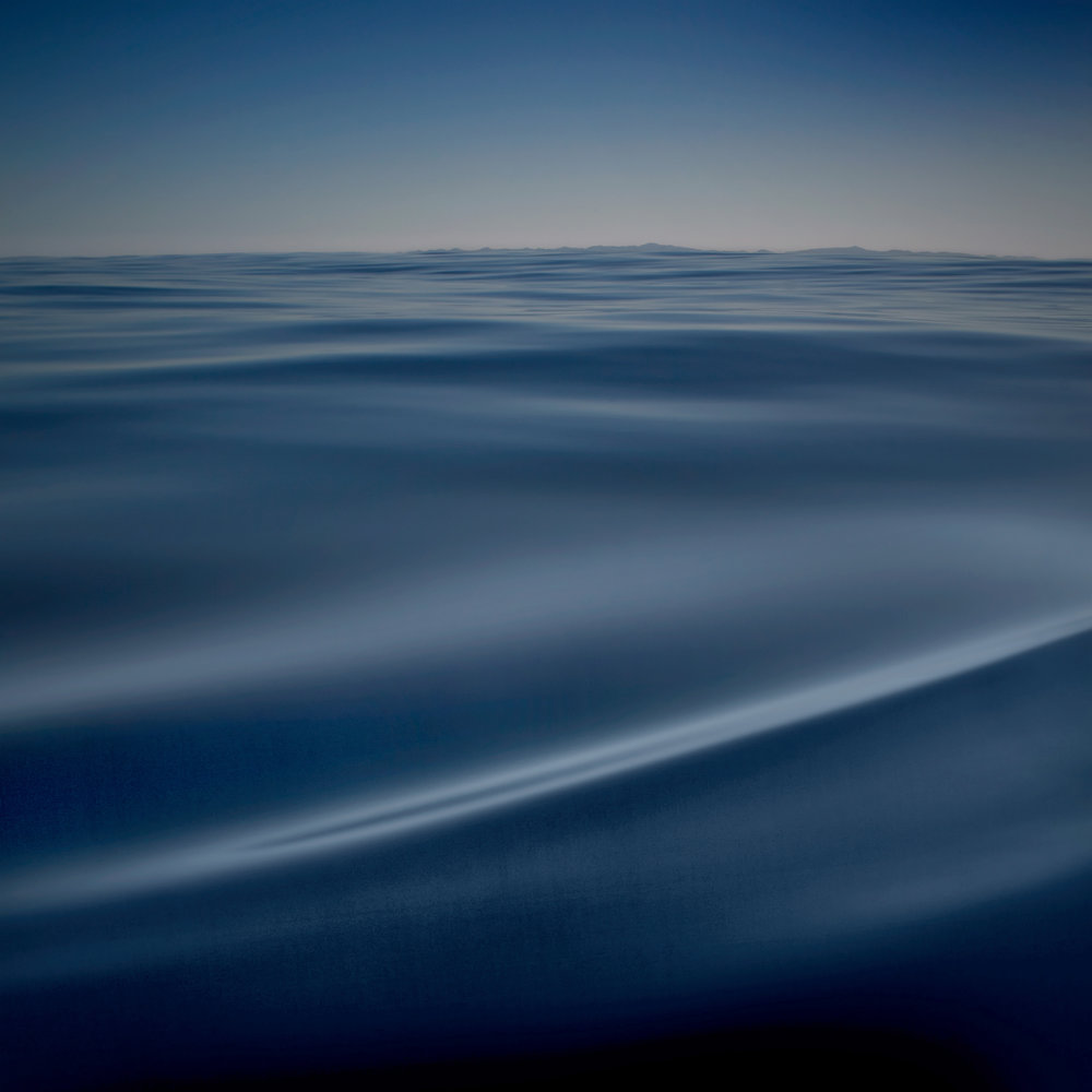 Seascape in Blue by Will Pierce