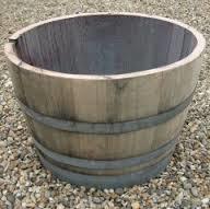 2. Wooden Wine Barrel