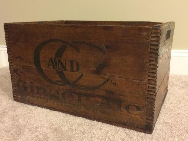 4. Wooden Soda Crate