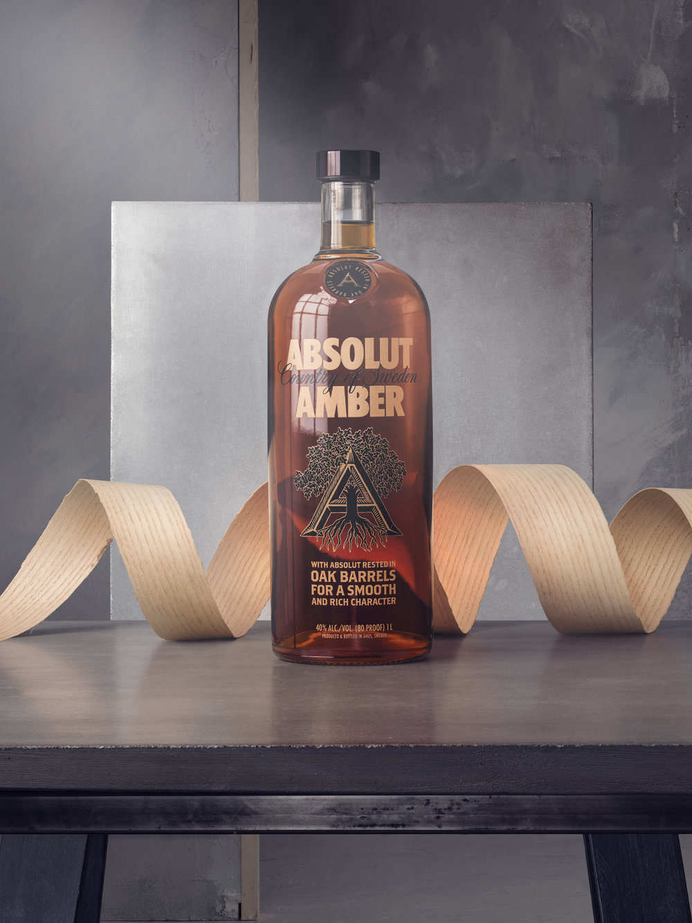 ABSOLUT AMBER / 4 IMAGES