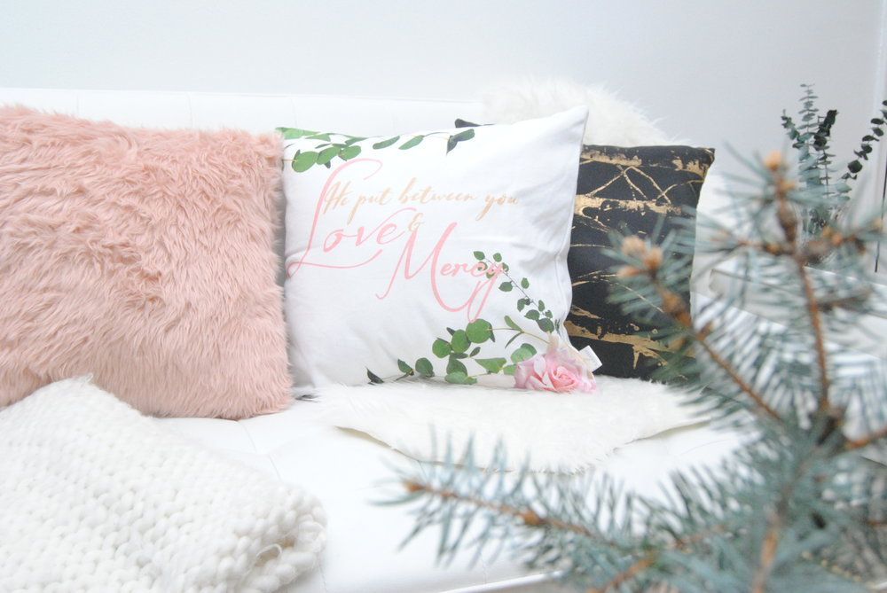 love pillow winter