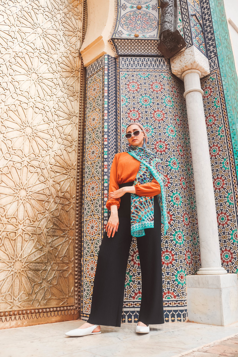 fez-morocco what to wear in morocco , morocco outfits karama by hoda