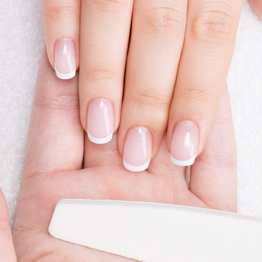 Exfoliate, cleanse, and hydrate your skin with our signature manicure.