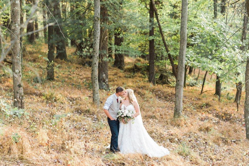 Jill Rob Outdoor Fall Ohio Wedding Photographer Grand