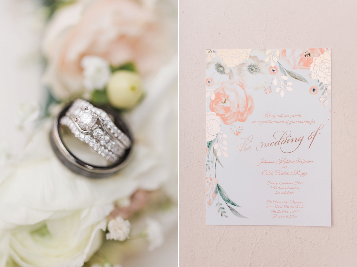 Johanna & Caleb (A Rustic Chic Wedding at the Barn at the Meadows in ...